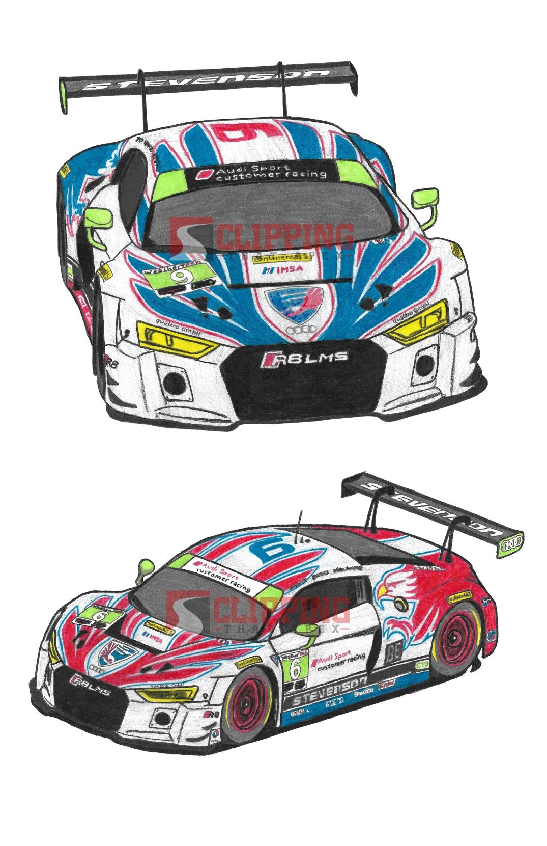 Stevenson Motorsports Audi R8